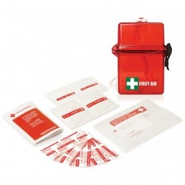15PC WATERPROOF FIRST AID KIT