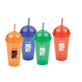 Plastic Cups with Dome