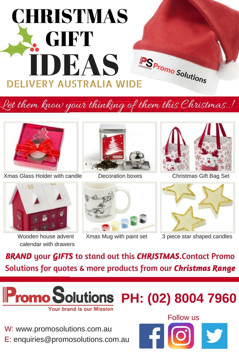 Christmas promotional gift ideas